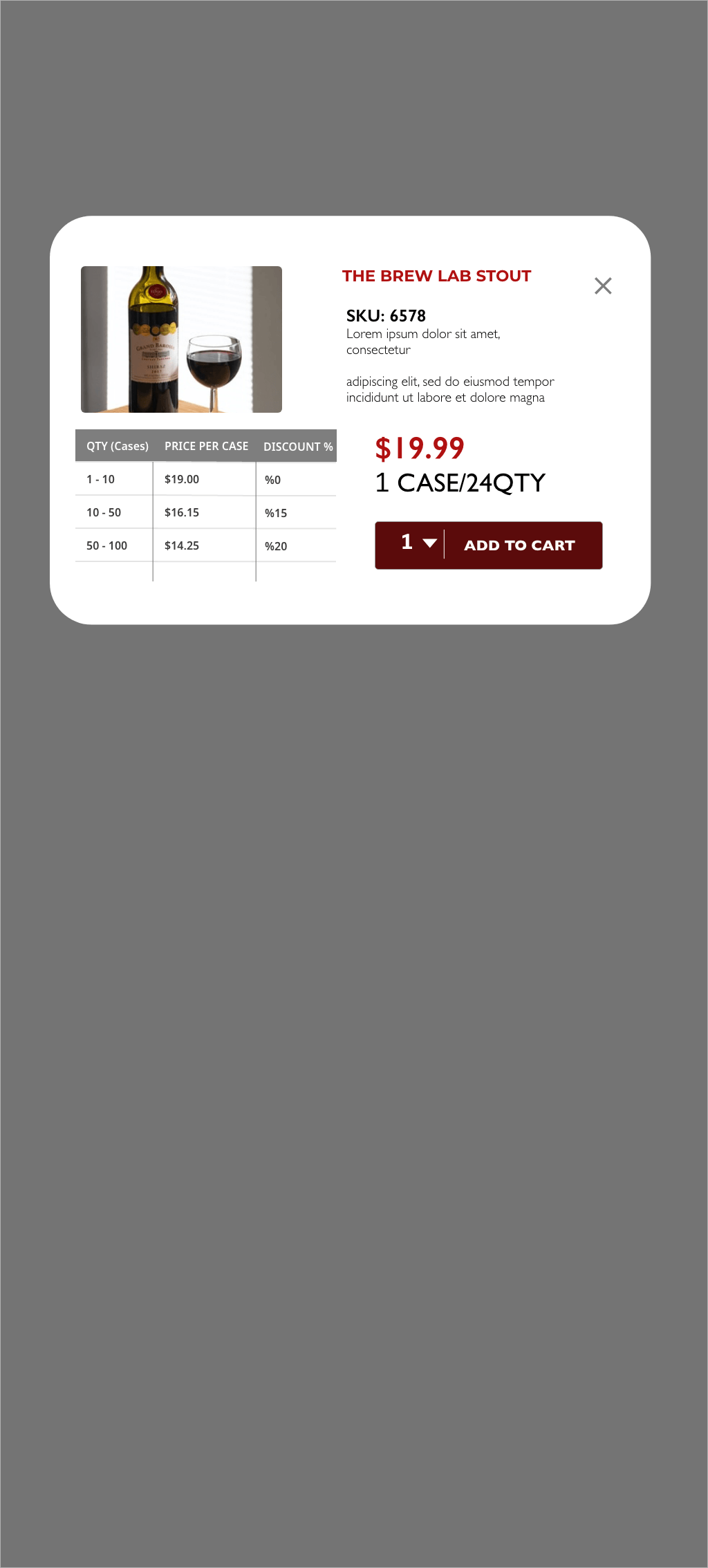 TBL Vendor Product Detail Card Overlay
